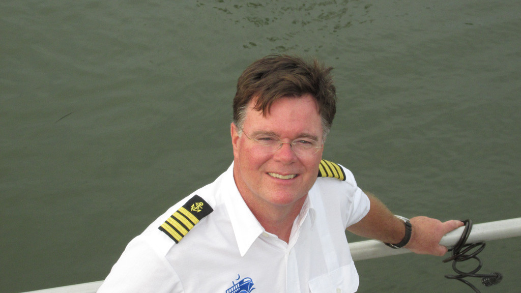 Captain Randy Brown Naval Architect Charleston South Carolina East Coast Vessel Deliveries