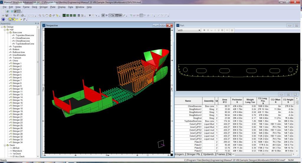 Maxsurf Compliments ShipConstructor