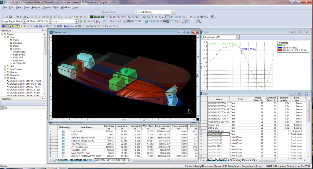 Maxsurf Naval Architect's Best Tool for Design of Offshore Supply Vessel