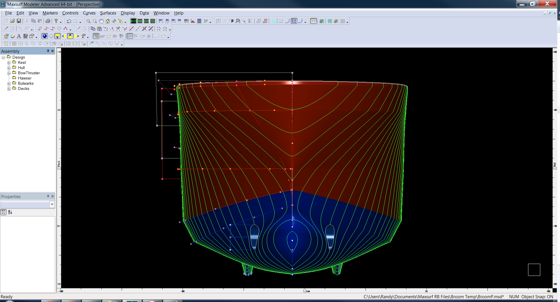 The Industrial Strength Naval Architecture Tool