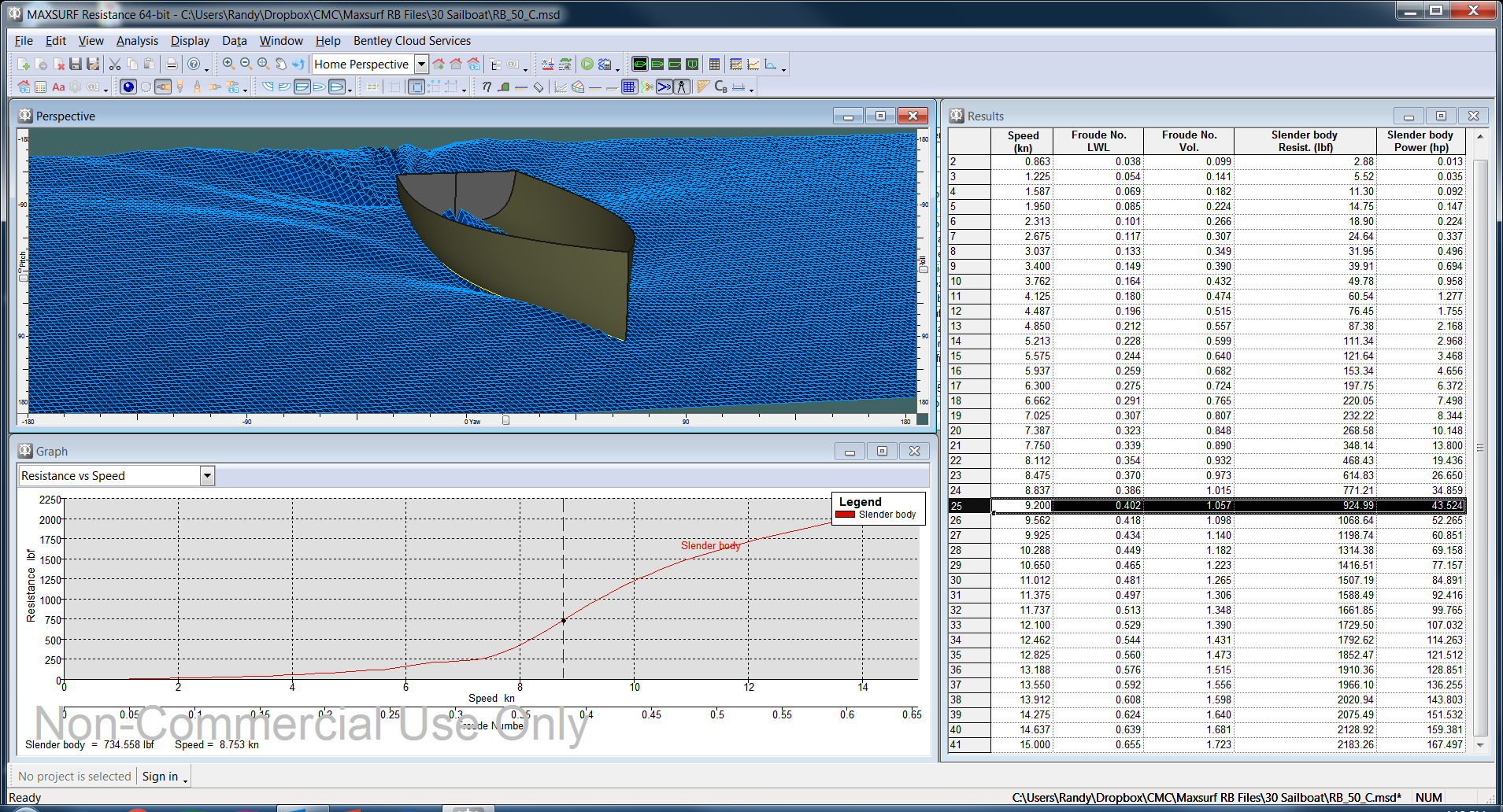 Maxsurf for West Coast Naval Architect